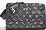 Aline All-over Logo Crossbody Bag at Guess Europe - Only £51!