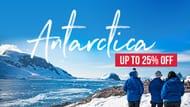 Intrepid Travel - up to 25% off Antarctica Voyages