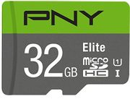 PNY Elite microSDHC Card 32GB Class 10 UHS-I U1 100MB/s