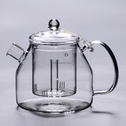 Water Steam Large Glass Teapot
