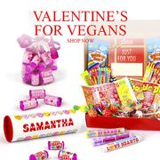 Special Offer - Valentine's for Vegans Personalised Sweet Gifts