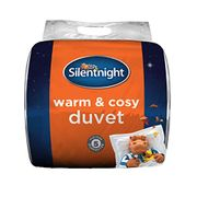 Cheap Silentnight Warm and Cosy 13.5 Tog, White, King, Only £27.9!