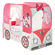 Disney Minnie Mouse Camper-Van Girls Toddler Bed 142 X 76.5 X 116 Cm