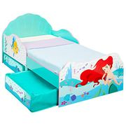 Best Price! Disney Princess Ariel Kids Toddler Bed with Storage 143cm
