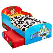 Disney Toy Story 4 Kids Toddler Bed with Storage 143cm (L) X 77cm (W) X 63cm