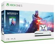Cheap Microsoft Xbox One S Console & Battlefield v Bundle - White Only £244.1