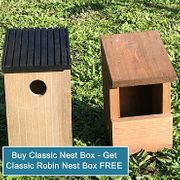 Classic Nest Box and Classic Robin Nest Box Offer