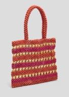 Beaded Shopper Bag