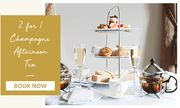 Hand Picked Hotels - save 50% on Champagne Afternoon Tea for 2