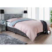 Cheap Ariana Velvet Double Bed at B&M Only £120!