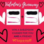 Win a Sheepskin Chaser for You and and Your Friend :)