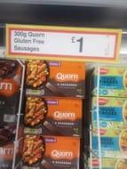 Quorn Gluten Free Sausages 6pk 300g