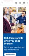 Get Double Points When You Shop In-Store Simply Scan Your Clubcard