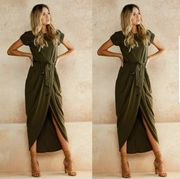 Ladies Wrap Dress at ebay - Only £7.89!