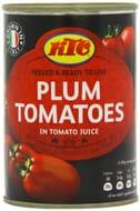 KTC Plum Tomatoes 400 G (Pack of 12)