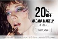 NATURISIMO - 20% off Madara Makeup