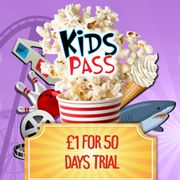 Special Offer - Kids Pass Membership-£1 for 50 Day Trial - Ideal for Half Term!