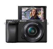 Sony 6400 E-Mount Compact Mirrorless Camera with 16-50mm Power Zoom Lens