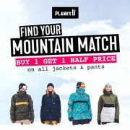 Planks Clothing - Buy 1 Get 1 Half Price Jackets & Pants