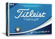 Titleist Tour Soft Golf Balls (12 Balls) at Golfonline - Only £24.95!