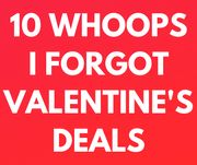 10 Last Minute Valentines Treats & Gifts - Collect Today!