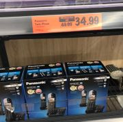 Panasonic Twin Cordless Phone Available in Lidl Store Only