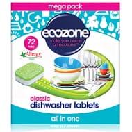 Ecozone 72 Pack Dishwasher Tablets