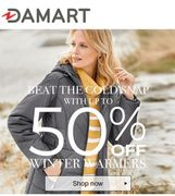 Up to 50% off Winter Warmers at Damart - Sweaters, Cardis, Coats & Jackets
