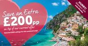 Extra £200 per Person off Selected 2020 Sailings