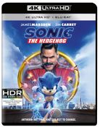 Sonic the Hedgehog - 4k Ultra HD (Includes 2D Blu-Ray)