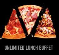 Half Term - Pizza Hut Unlimited Lunch Buffet - Pizza, Pasta & Salad