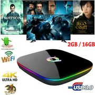 Q plus 6K Smart TV Box Android 9.0 Allwinner H6 WiFi Media Player 2GB/16GB Z4O6