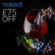 £75 off Naked Wines
