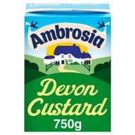 Ambrosia Devon Custard 750G - HALF PRICE
