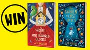 Win a Signed Copies of House of One Hundred Clocks Garden of Lost Secrets!