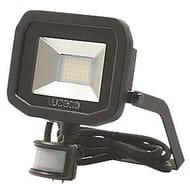 Lceco Guardian LED Floodlight & PIR Black 15W Cool White