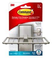 Command BATH34-SN-ES BATH34 Soap Dish, Satin Nickel, 1
