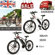 SAMEBIKE MY-SM26 26In Electric Bike Power Assist Bicycle E-Bike 350W 30km/h
