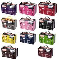 Gugio Ladies Tidy Travel Insert Handbag Cosmetic Organiser Purse Large Liner