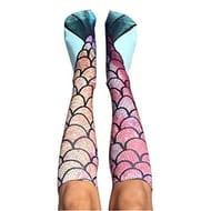 70% Off Mermaid Printed Knee High Socks