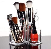Acrylic Makeup Brush Holder ***4.8 Stars - 587 Ratings***
