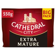 Cathedral City Extra Mature Cheddar 550G