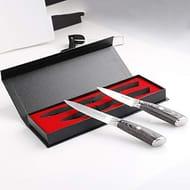 "MOSFiATA Kitchen Knife Set 5""/13cm Chef Knife Cooks All Purpose and 3.5""/9cm"