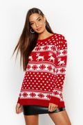 Boohoo Women's Christmas Jumpers from £2.70 - Lots of Styles!