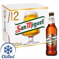 San Miguel Premium Lager Beer, 12 X 330ml