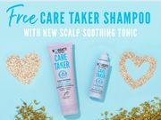 FREE Care Taker Shampoo with Every Purchase of Scalp Soothing Tonic