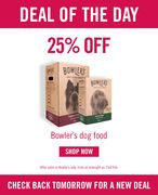 25% off Bowlers Dog Food