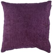 Plum Chenille Cushion