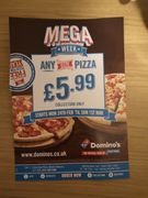 Any Size Pizza £5.99 Collection Only @Selected Stores from 24/02