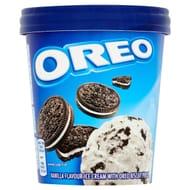 Oreo Vanilla Flavour Ice Cream with Oreo Biscuit Pieces 480ml